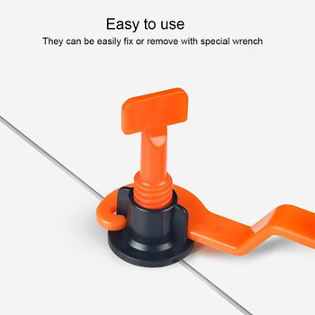 50pcs Leveling System Leveler Locator Spacers Plier Level Wedges Tile Spacers For Flooring Wall Tile Spacer Carrelage Tile 800 tile spacer leveling system 500 clips 300 wedges spacers flooring tool set