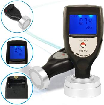 VTS-60A Integrated Type Food Water Activity Meter Monitor with Beef Jerky Fruit Jerky Vegetables Jerky Tester Tools фото