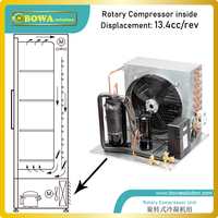 Конденсаторный блок 0.6HP с воздушным охлаждением и компрессором LBP работает бесшумно  отличный выбор для мороженого или других морозильных к...