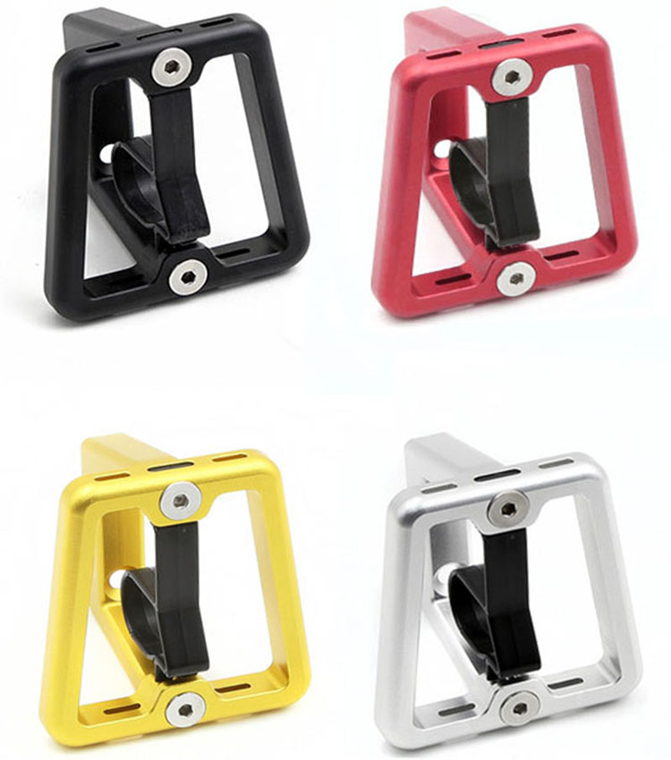 H/&H Unibody Lightweight Brompton Bicycle Front Carrier Block black edition