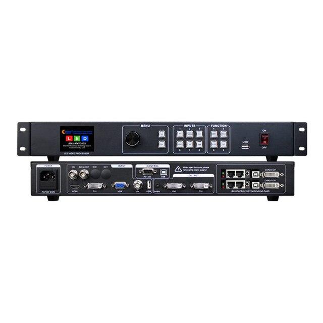 SDI معالج الفيديو MVP300S مع كامل اللون led إرسال بطاقة ts802d msd300 s2 t901 في شاشة ليد داخلية p5