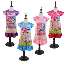 Summer New Products Girls Cartoon Printed Pattern Home Night