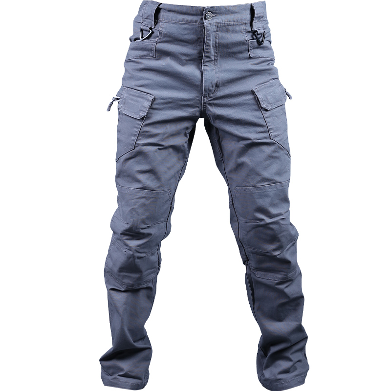 Tactical Cargo Pants Cotton Windproof Multifunctional Tactical Pants With Multiple Pockets Tear Resistant Men's Pants