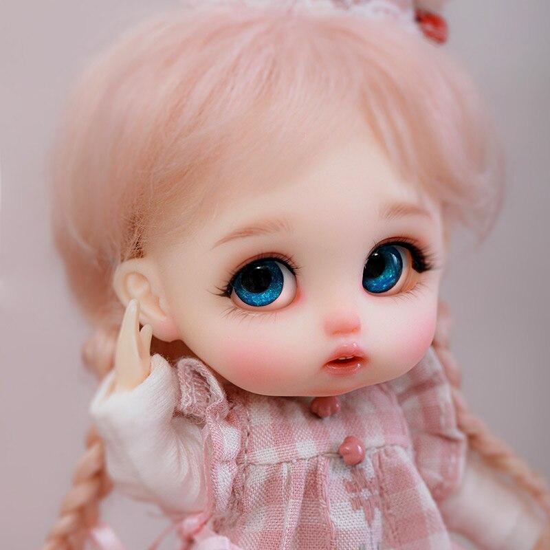 Bjd Pop Ob11 Yuyu 1/11 Tiny Ball Jointed Doll Resin Speelgoed Voor Kids Verrassing Cadeau Voor Meisjes Schattige Baby Bjd club Aanwezig