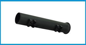 Image 5 - 4X abs 黒プラスチック釣竿ポールホルダーポータブル釣竿紡績アクセサリー耐久性のあるチューブマウントブラケットソケットラック