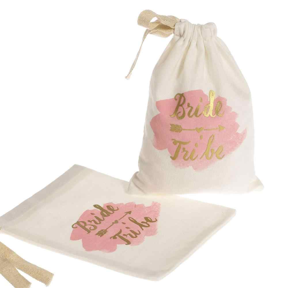 Hen Party Bride Tribe Gift Bag Wedding Party Bridesmaid Team Bride Gift Bags Bachelorette Hen Bridal Shower Party Gift Bag HM19