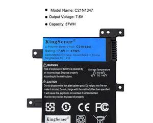 Image 5 - 7.5V 37WH Kingsener C21N1347 Nieuwe Laptop Batterij Voor Asus X554L X555 X555L X555LA X555LD X555LN X555MA 2ICP4/63/134 c21N1347