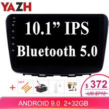 "YAZH Android 9.0 Pie 10.1 ""IPS Auto Radio Multimedia Voor Suzuki Baleno 2016 Met 4K Video Display/ SWC/OBD/Carplay/Mirror Link(China)"