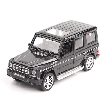 Mercedes Benz G65 AMG de aleación fundida, modelo de coche de aleación de 16CM, coche todoterreno, 4 puertas abiertas, vehículos de Metal, juguete para niños, regalo 1:32