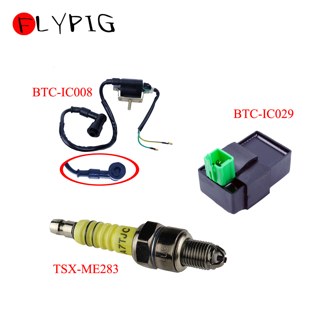 Ignition Coil CDI Spark Plug For <font><b>Honda</b></font> XL70 XL80 XL100 XL125 XL175 XL185 XL250 <font><b>XL350</b></font> @10 image