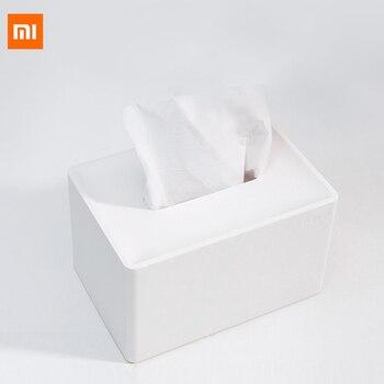 Xiaomi Mijia Nusign pudełko na chusteczki kreatywny dom salon jadalnia stolik biurko ręcznik papierowy przechowywanie papieru dla inteligentnego domu