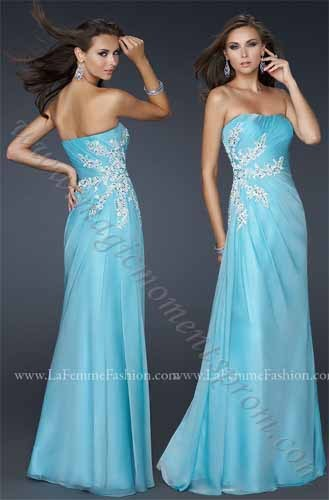 Free Shipping 2014 Crystal Waistband New Elegant Blue Off The Shoulder Custom Gown Lace Appliques Sweetheart Graduation Dresses