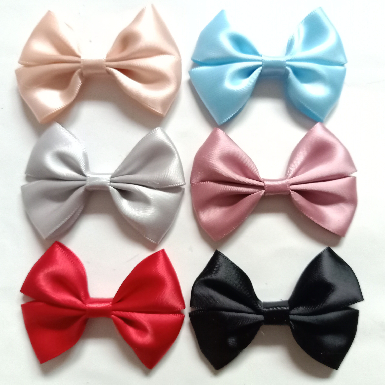 1PCS Fashion ribbon bows hair Accessories for clips knot headwear headband hairband hairpins No clip