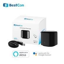 Broadlink minicontrolador inteligente RM4C con WIFI, controlador remoto por infrarrojos para automatización del hogar, funciona con Google Home