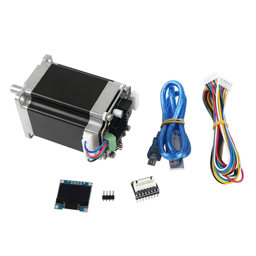 Affichage MKS SERVO57A contrôleur haute vitesse bureau fermé 3D imprimante accessoires adaptateur plaque développé à faible bruit boucle moteur ensemble