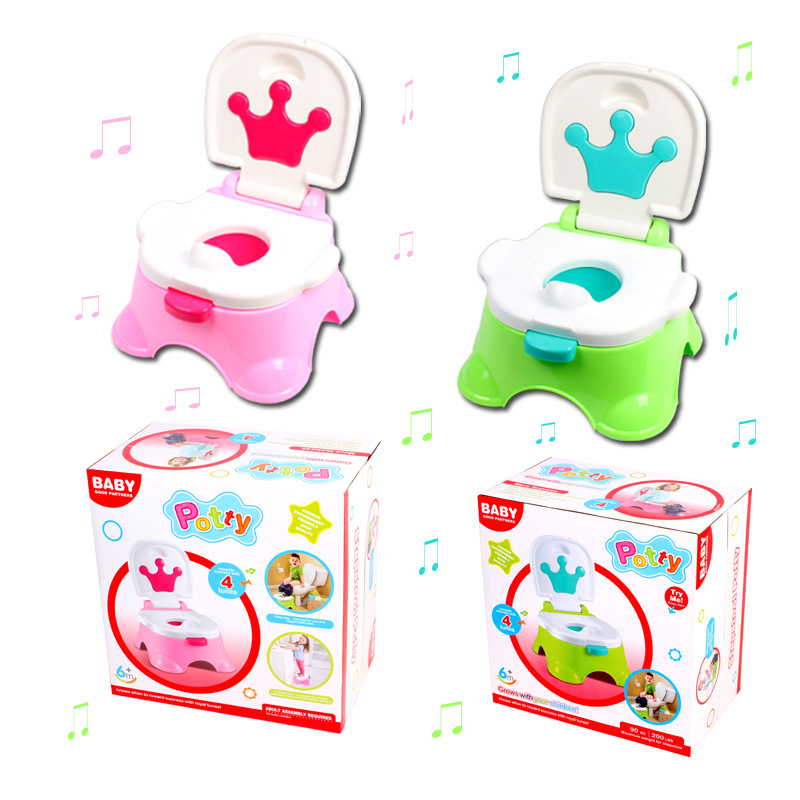 Children Music Peeing Urinal Multi-functional BABY'S Toilet Portable Baby Toilet