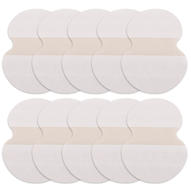 10pcs/set Underarm Pads Dress Clothing Perspiration Deodorant Pads Armpit Care Sweat Absorbent Pads Deodorant For Women Men