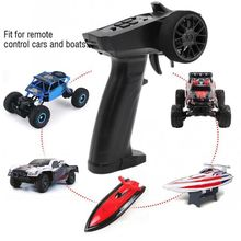 Racing 2.4GHz 3CH Radio System Transmitter Controller Remote Control with Receiver For RC Car Boat 634F full scale remote control receiver esc upgrade op fitting accessories for wpl rc car ship model 634f