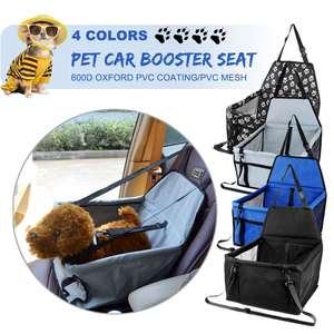 40x40x25 600D водонепроницаемый портативный усилитель, чехол для автомобильного сиденья, корзина для щенка, дорожная коробка, сумка для собак, ко...