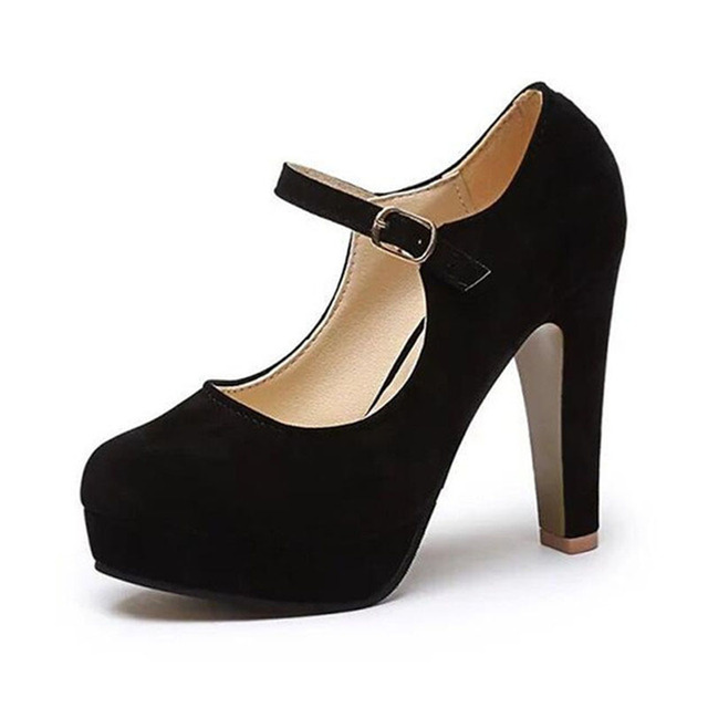 2020 shoes woman 12CM Pumps suede Women 's shoes summer the new sexy high heels rounded suede comfortable work shoes