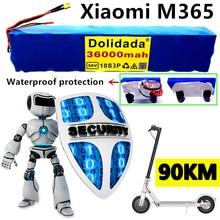 Новый аккумулятор высокой мощности 36 В 10S3P 36 Ач xiaomi M365 аккумулятор 36000 мАч для электровелосипеда с BMS
