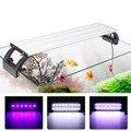 Аквариумное освещение  светодиодное освещение 20-65 см  аквариумная лампа для аквариума  водное растение  рыболовное светодиодное RGB внутренн...
