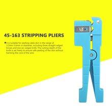 45-163 стрипперы плоскогубцы волокна связка Трубное устройство для снятия изоляции поперечный луч трубки кухонный нож свободные трубки открывалка