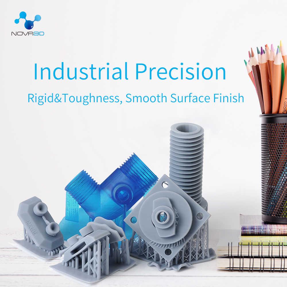 Impresora NOVA3D 405nm UV resina Material de impresión LCD DLP SLA UV sensible líquido fotopolímero
