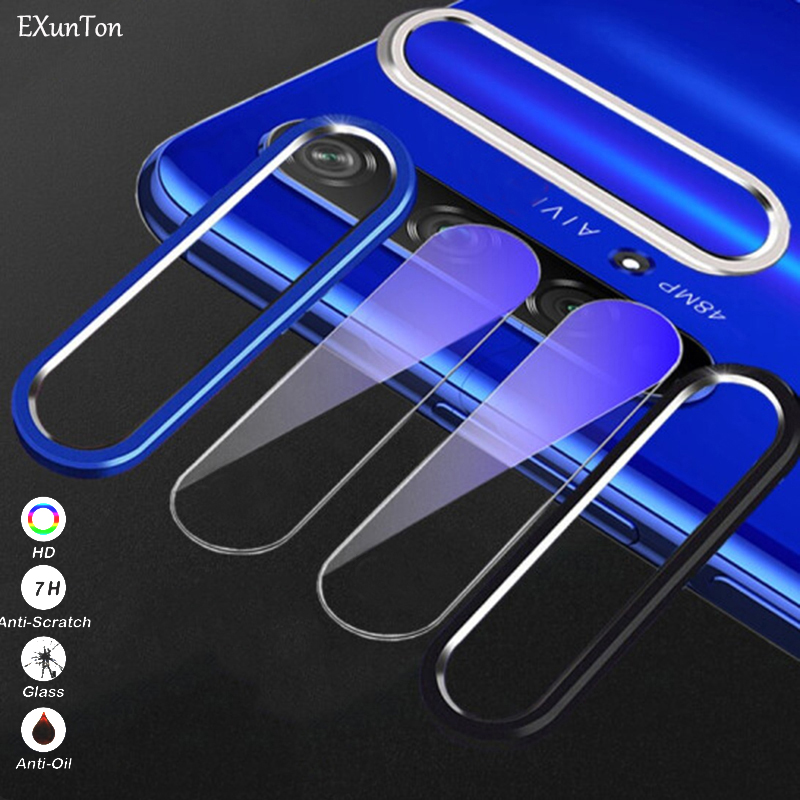 Full Cover Camera Lens Tempered Glass For Honor 9X Back Camera Lens Screen Protector For Huawei Honor 9X Protective Ring