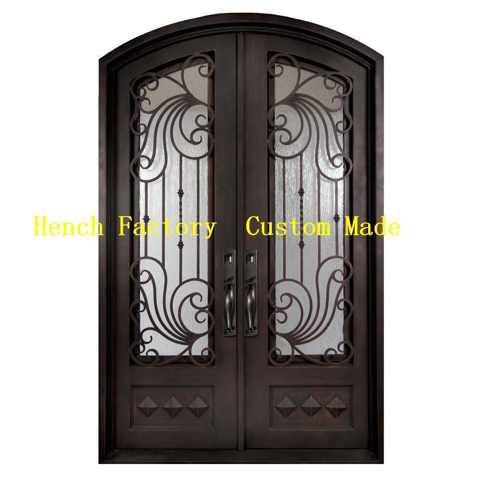 Shanghai Hench Brand China Factory 100% Custom Made Sale Australia Elite Iron Doors