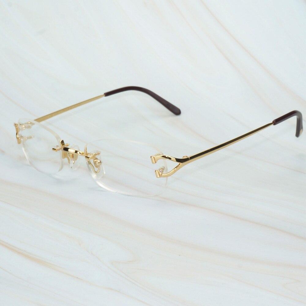 Vintage Glasses Frame For Men Women Luxury Designer Carter Glasses Clear For Computer Office Decoration Eyeglasses For Wedding