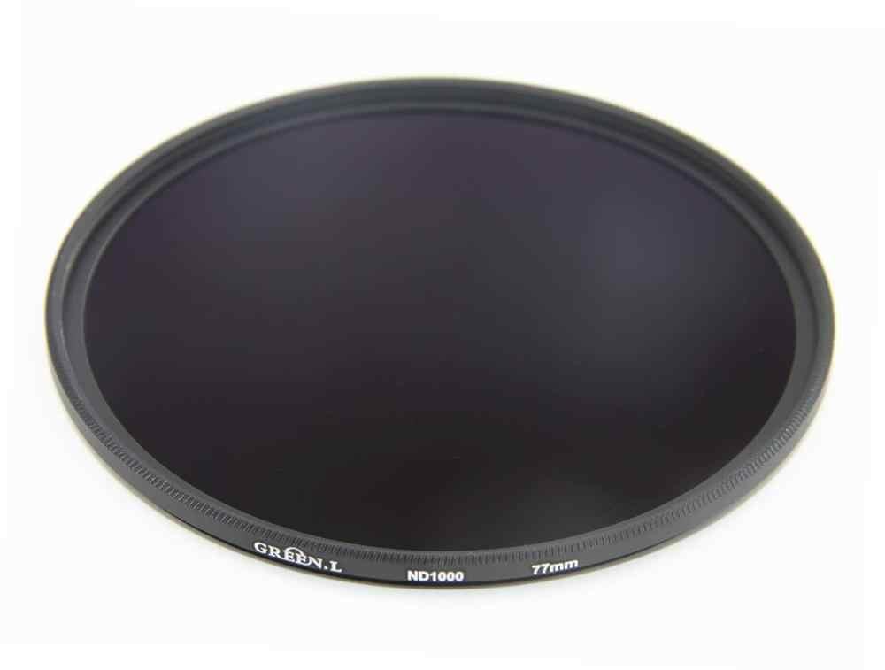 GREEN.L 46mm ND1000 Filter Slim Neutral Density ND Filter Optical Glass 10 Stop