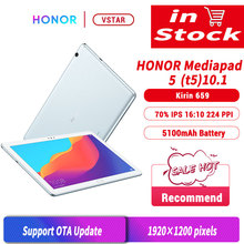 Original Huawei Honor MediaPad T5 10.1 inch 4GB 64GB tablet PC Kirin 659 Octa Core Android 8.0 honor Tablet 5 Fingerprint unlock
