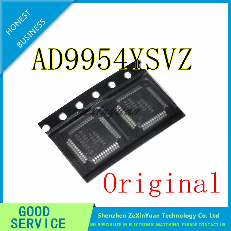 2PCS/LOT  AD9954YSVZ AD9954YSV AD9954 TQFP-48 NEW ORIGINAL