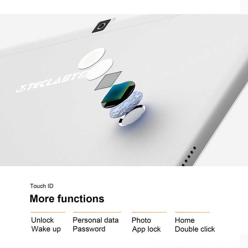 تابلت تكلاست T10 أندرويد بشاشة 10.1 بوصة نيتبوك 2560x1600 4GB RAM 64GB ROM MT8176 هيكسا كور 13.0MP أندرويد 7.0 تابلت كمبيوتر 8100mAh