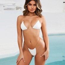 Bra G-String Transparent Strap Bikini Lingerie Set RK