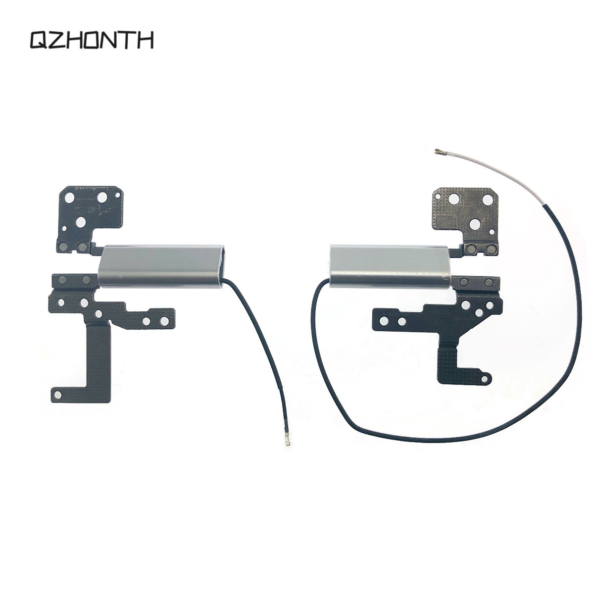 Laptop LCD Screen Hinges Set For Lenovo Yoga 730-13IKB Silver Color