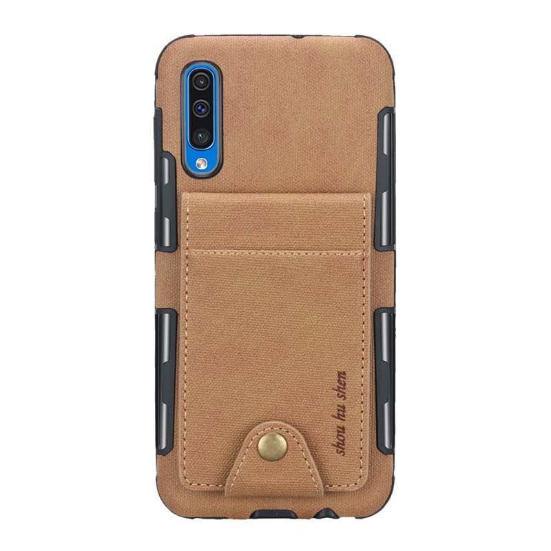 Flip Card Slot Silicone Flip Wallet Back Cover Mobile Phone Case Cover For Samsung Galaxy S10 A50 M30 S10Plus S10E S9 KS0287 in Flip Cases from Cellphones Telecommunications
