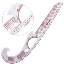 Ruler Measure Degree-Tools Multi-Function Plastic 360 Bend Sewing French-Curve