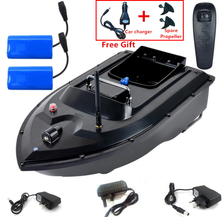 180Mins 500m RC Distacne Auto RC Remote Control Fishing Bait Boat Speedboat  Fish Finder Ship Boat With EU charger US/UK Charger 1