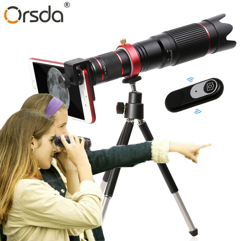 4K HD 36X Optical Zoom Camera Lens Telephoto Lens Mobile Telescope Phone for iPhone 11 Smartphone Cellphone lente para celular title=
