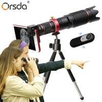 Orsda 4K HD 36X Zoom óptico Cámara telescopio lente teleobjetivo teléfono móvil telescopio para teléfono móvil Smartphone