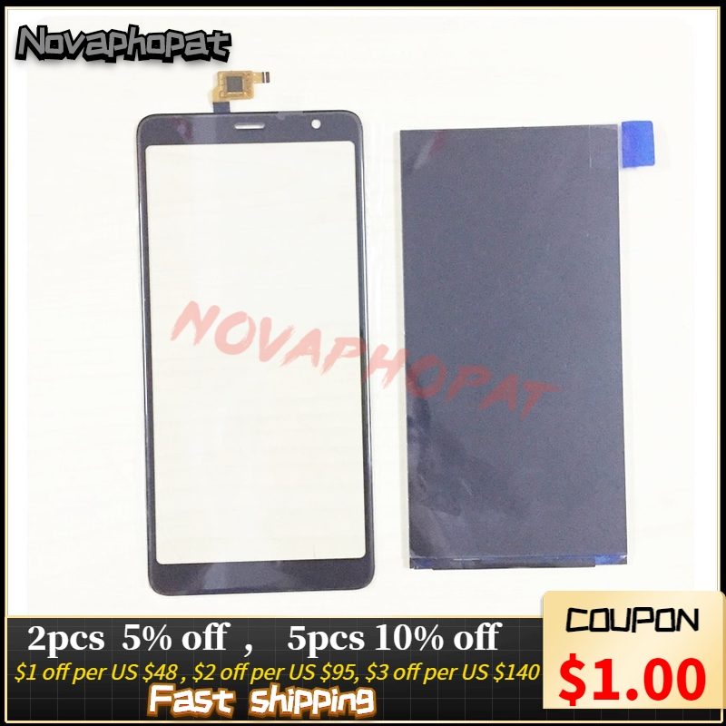 Black Original LCD Sensor Touchscreen For BQ Mobile BQ-6010G Practic 6010g Touch Screen Digitizer Glass Panel Lens Glass Display