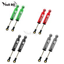 4PCS ALUMIUNM OIL SUSPENSION SHOCKS ABSORBER INTERNAL SPRING DAMPERS 90mm  For SCX10 D90 WRAITH TRX-4 90046 RC CAR