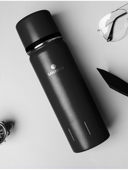 Stainless Steel Water Bottle Tea Vacuum Flask with Filter Thermal Cup Coffee Mug Water Taza Termo Insulated Bottle Office 30W24