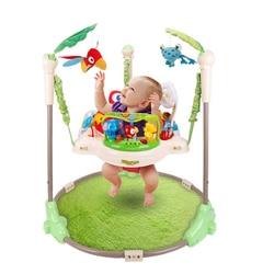 Многофункциональный Электрический детский прыгун, колыбель, тропический лес, детские качели, качалка, детский батут, качели для фитнеса