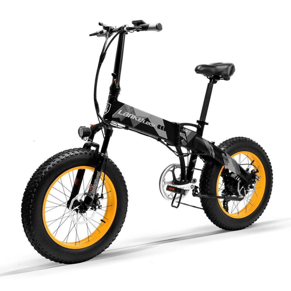 Electric LANKELEISI   X2000Plus foldable 20 inch Bicycle 400W Motor 13AH L G Lithium Battery for professional rider 3