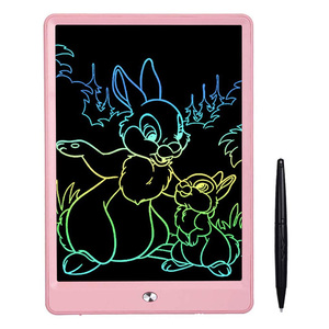 LCD Writing Tablet 10 Inch Drawing Tablet Colorful Screen Doodle Board and Kids Drawing Pad for Kids(China)