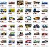 קופסת גפרורים מכוניות 1:64 Forde & פלימות 2018 אוסף של סגסוגת רכב דגם 31-60