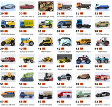 Matchbox cars 1:64 Forde & Plymouth 2018 collection of alloy car model 31-60
